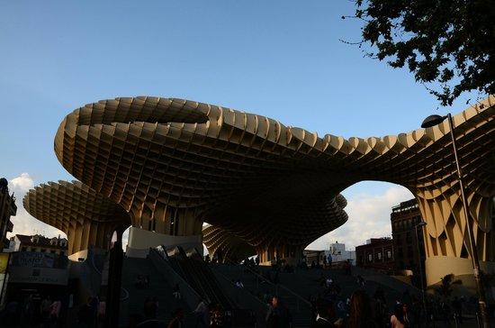 Metropol Parasol : Setas de Sevilla и площадь Энкарнасьон