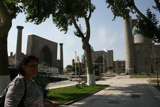 Régistan : Регистан, Самарканд.