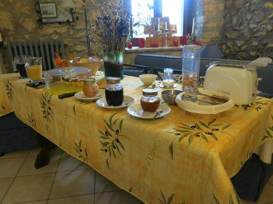 Antica Olivaia : Breakfast