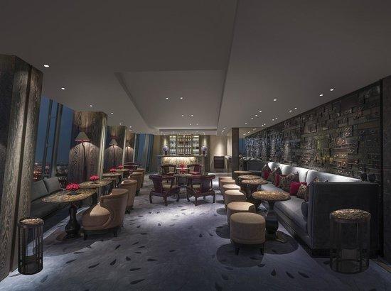 Shangri-La Hotel, At The Shard, London: GONG Bar