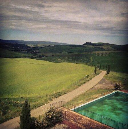 Agrihotel Il Palagetto: vista dalla camera