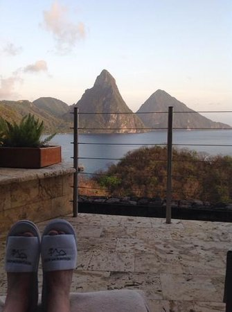 Jade Mountain Resort : Room with a view