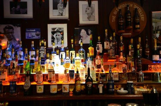 CheckPoint Pub: alcohools top shelfs