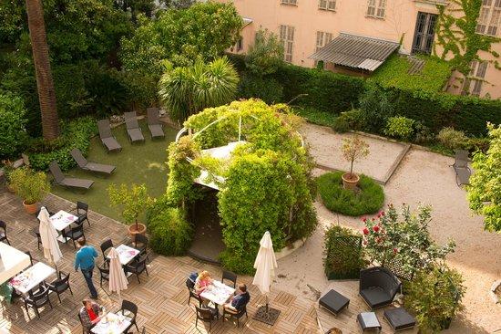 Hotel Villa Victoria : giardino