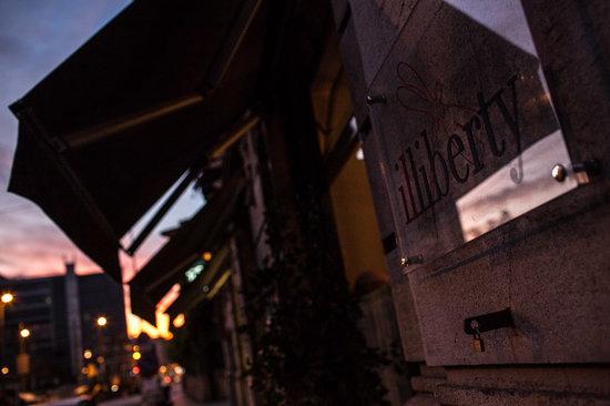 Il Liberty: Esterno ristorante