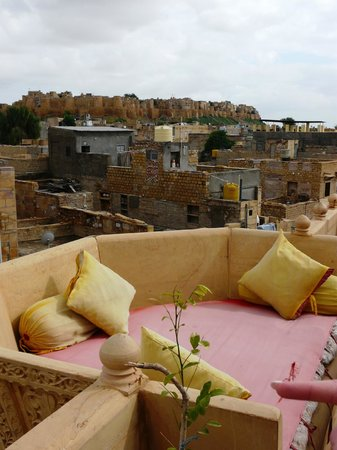 Hotel Pleasant Haveli : Fort View from roof