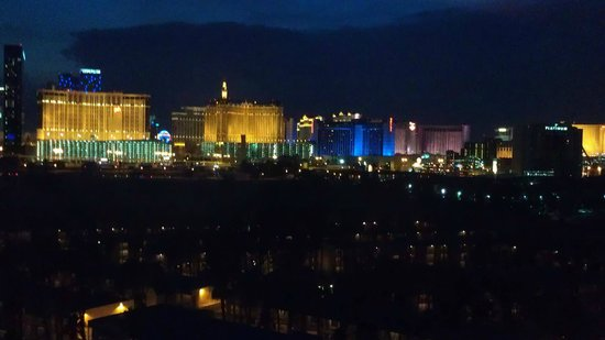 Hard Rock Hotel and Casino: Hard Rock Room with a View!
