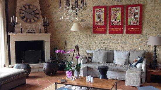 Chambres en Vigne: Salon