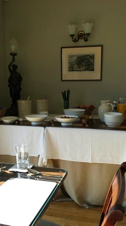 Munden House : Breakfast delights