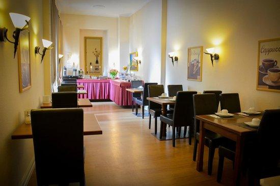Hotel am Landeshaus: Frühstücksraum
