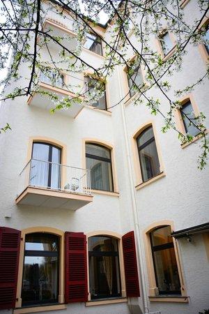 Hotel am Landeshaus: Innenhof