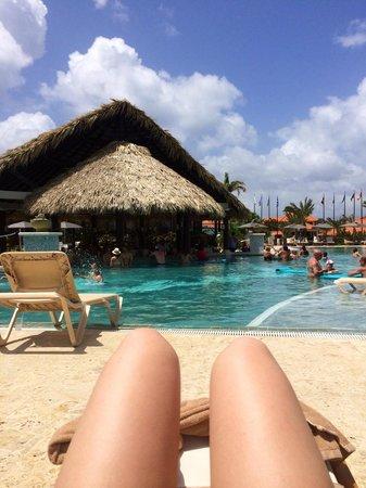 Sandals LaSource Grenada Resort and Spa : Swim up Bar/pool