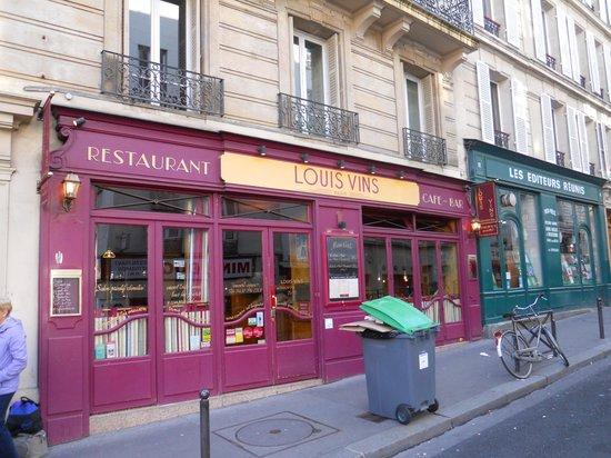 Le Louis Vins: locale