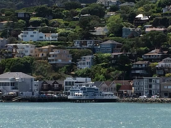 Scoma's Of Sausalito: View from Ferry