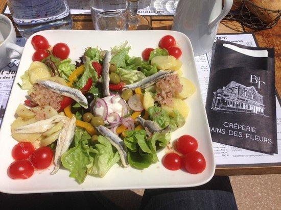 Bains des Fleurs: ma salade varoise...