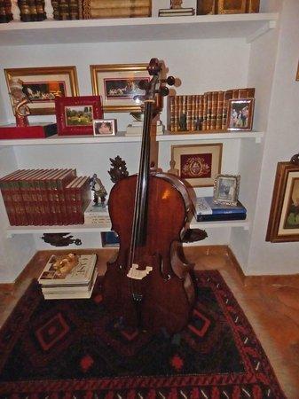 Villa Chiarenza Maison d'Hotes: Salotto