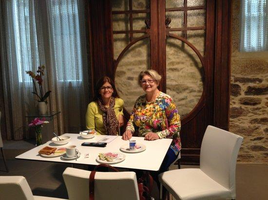 Smart Boutique Hotel Literario San Bieito: Restaurante do Hotel