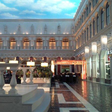 The Venetian Las Vegas : Wolfgang Pack's restaurant