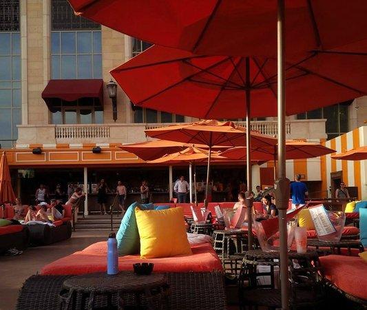 The Venetian Las Vegas: Tao Beach Club - before it got busy