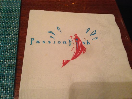 PassionFish: napkin