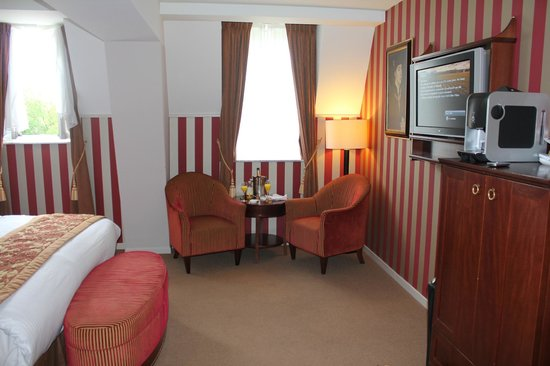 Hotel Dukes' Palace Bruges: Deluxe Junior Suite
