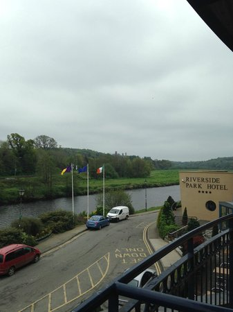 The Riverside Park Hotel & Leisure Club : Room with a view