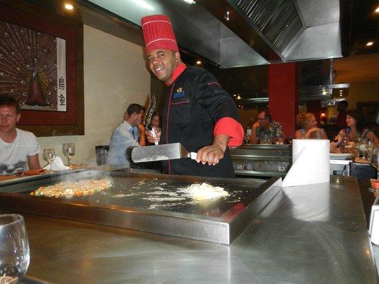 TRS Turquesa Hotel: Japanese restaurant