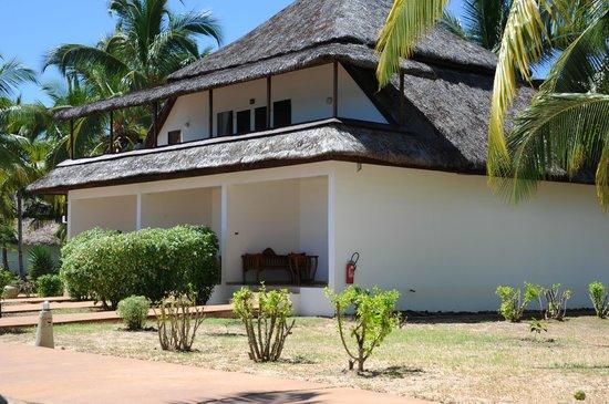 VOI Amarina resort : le costruzioni con le camere