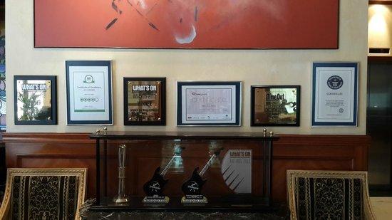 Marco Polo Hotel: Awards