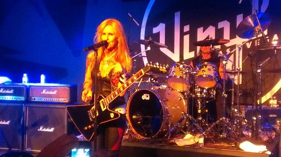 Hard Rock Hotel and Casino: Lita Ford at Vinyl