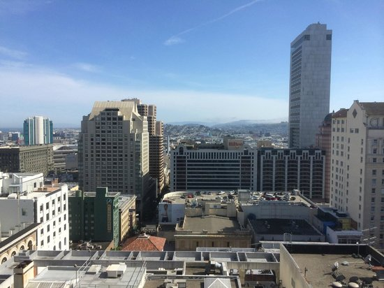 JW Marriott San Francisco Union Square: View from room