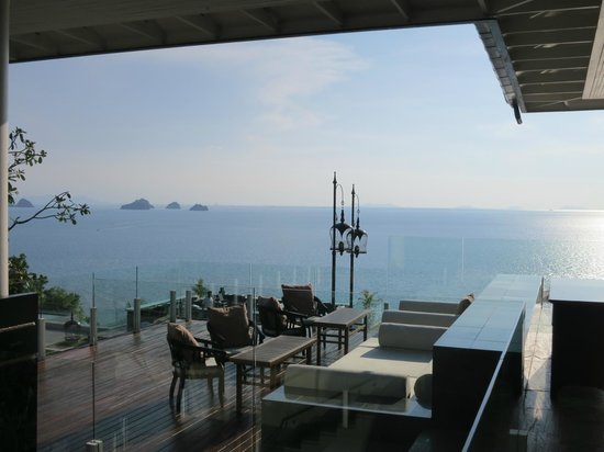 InterContinental Samui Baan Taling Ngam Resort : Aussicht aus der Lobby