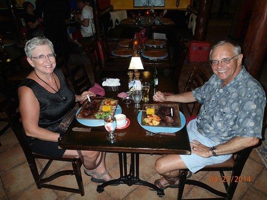 El Gaucho Argentine Grill : Gotta Love the Gaucho!