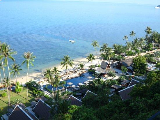 InterContinental Samui Baan Taling Ngam Resort : Pool am Strand