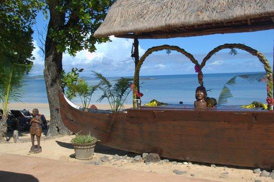 VOI Amarina resort: bar sulla spiaggia