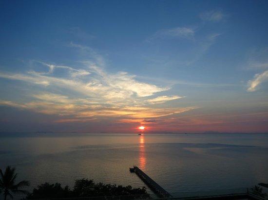 InterContinental Samui Baan Taling Ngam Resort: Sonnenuntergang