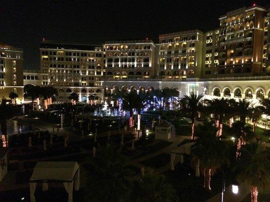 The Ritz-Carlton Abu Dhabi, Grand Canal: From the balcony
