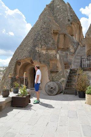 Kelebek Special Cave Hotel : Room 4 entrance