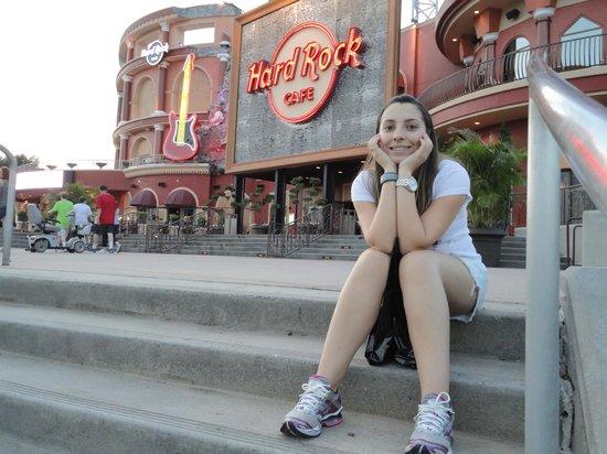 Hard Rock Live : Depois de um dia de parque janta no Hard Rock!