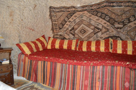 Kelebek Special Cave Hotel : Room 4 sitting area