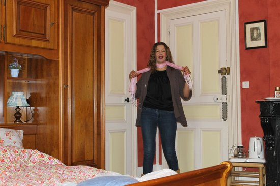 Chateau de Boisrobert : just a corner of our room