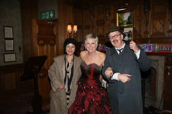 Tylney Hall: KDM provided WPC Go Lightly and Inspector Bauls for the Murder Mystery