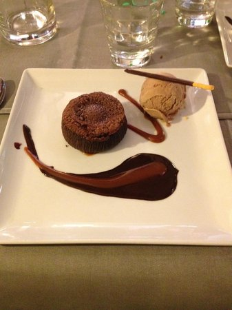 Restaurant La Villa : déssert moelleux