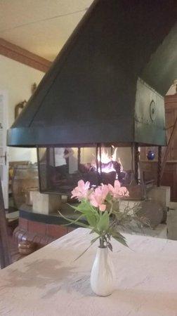 Hotel Le Saint Marc: Soirée au coin du feu