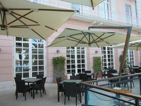 Grand Hotel Bristol Resort & Spa : terrazza