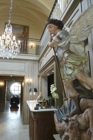 Hôtel Le Sauvage : L'accueil