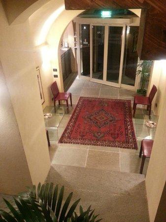 Hotel Antiche Mura: l'ingresso e reception