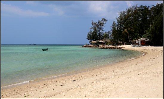 Nice Sea Resort: вид с пляжа отеля