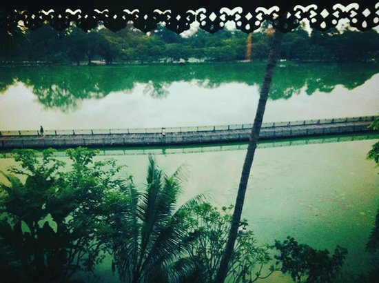 The Kandawgyi Palace Hotel : View from room