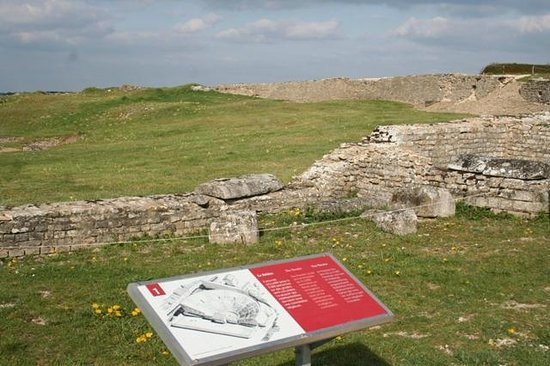 MuseoParc Alesia: Ruine romaine